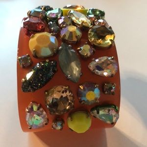 J. Crew Jewelry - J crew jewelled cuff